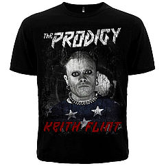 Черная футболка The Prodigy (Keith Flint), Размер S