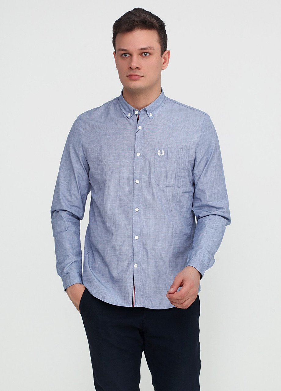 Рубашка  Fred Perry M Голубой