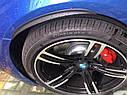 """Молдінг гумовий """"під карбон"""" на колісні арки 25 см 1 шт. , фото 3"""