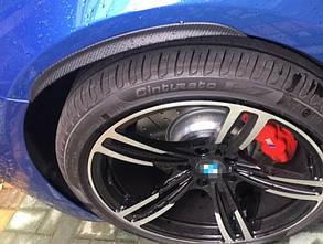 """Молдінг гумовий """"під карбон"""" на колісні арки 32 см 1 шт."""