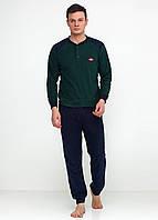Пижама (штаны, кофта) Lee Cooper XL Зеленый, Синий