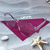 Имиджевые очки без оправы