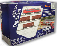 Roco 51293 стартовый набор грузовой поезд c Z21 (детская железная дорога ) в масштабе 1/87 состояние бу