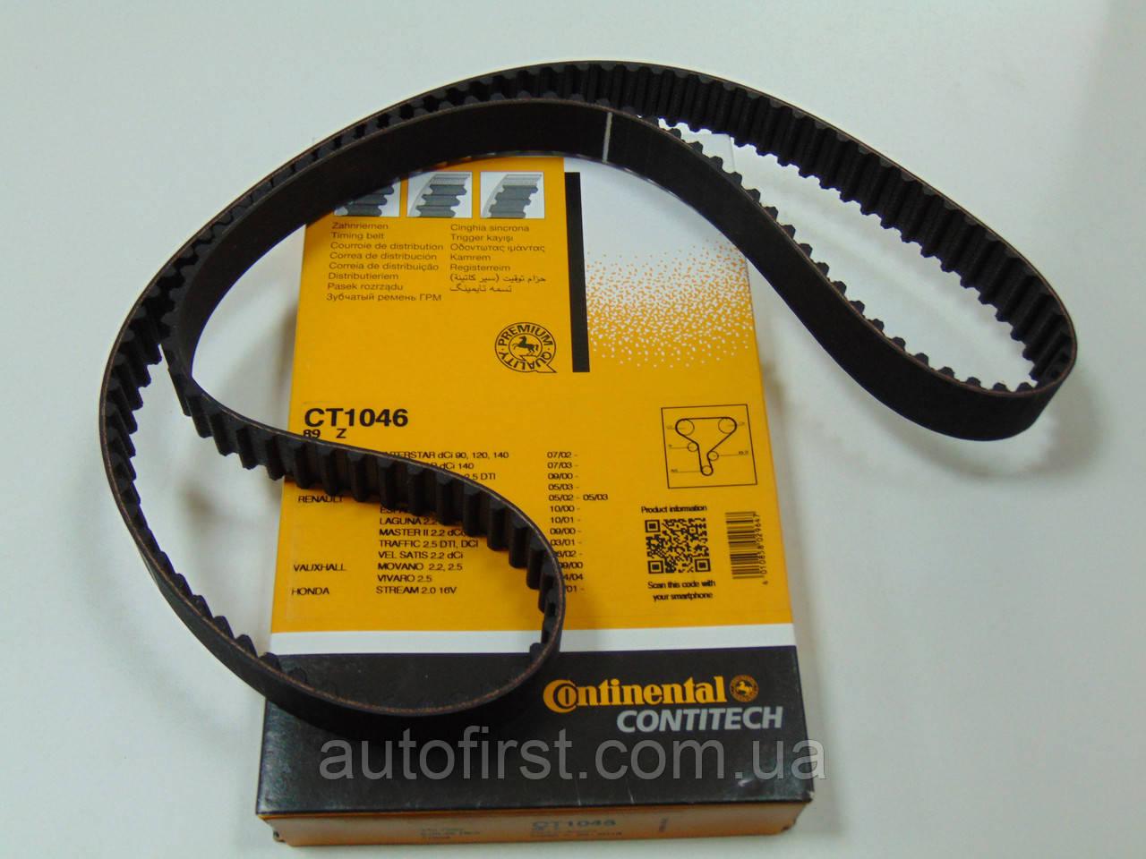 Contitech CT1046 Ремень ГРМ Opel, Renault