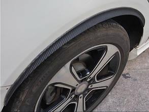 """Молдінг гумовий """"під карбон"""" на колісні арки 70 см 1 шт."""