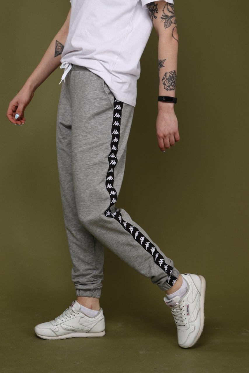 42e98203 Стильные спортивные штаны с лампасами, Kappa (унисекс) - SUNVEL STORE в  Киеве