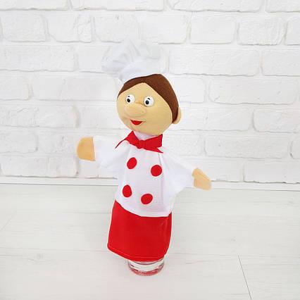 Повар 35 см кукольный театр (337) кукла-игрушка на руку