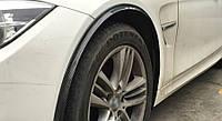 """Молдінг гумовий """"під карбон"""" на колісні арки 120 см 1 шт. , фото 1"""