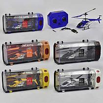 Вертолет 33008 (24/4) 3 вида, р/у, гироскоп, аккум, 3-х канальный пульт ДУ, мет+пластик, в кор-ке