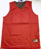 Форма баскетбольная р. 48-50, 52-54 (двусторонняя красная/черная), фото 1