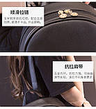 Рюкзак девушка кожаный черный сделанный в Китай спортивный городской стильный только опт, фото 5