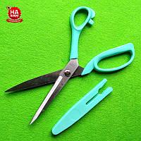 """Ножиці швейні 23см """"Taksun"""" (№9) з чохлом. Бірюзовий"""