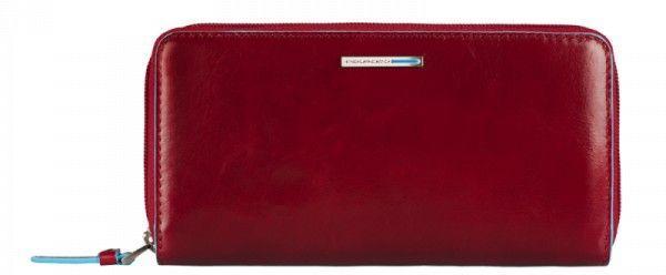 Женский кошелек кожаный Piquadro BL SQUARE PD3229B2_R, красный