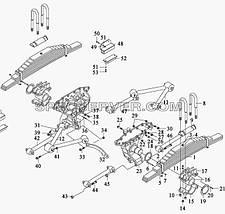 Лист ресори задньої №1 корінний FAW 3252 (ФАВ) 2912201-260, фото 3
