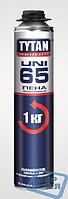 Пена монтажная профессиональная Tytan 65 UNI 750 мл.