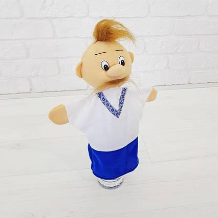 Козак кукла на руку рукавичка игрушка 32 см кукольный театр (339) казак