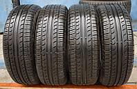 Шины б/у 195/65 R15 Pirelli Cinturato P6, ЛЕТО, комплект, 6 мм