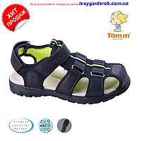 Стильні босоніжки для хлопчиків р 35-36 (код 8649-00)