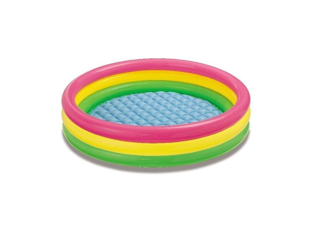 Детский надувной бассейн intex   114-26 см