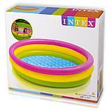 Детский надувной бассейн intex   114-26 см , фото 2