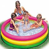Детский надувной бассейн intex   114-26 см , фото 4