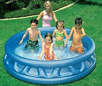 Переносной надувной бассейн intex 188-46см, фото 1