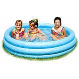 Детский надувной бассейн intex ,168*41 см, фото 3
