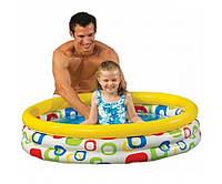 Переносной детский надувной бассейн intex 114-25 см, фото 1