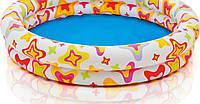 Надувной бассейн с узором из звездочек для детей 122-25см, фото 1
