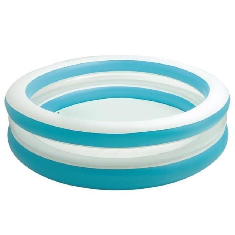 Детский надувной бассейн intex «линза» с прозрачными стенками, 203 х 51 см