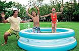 Детский надувной бассейн intex «линза» с прозрачными стенками, 203 х 51 см, фото 4