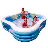 Модный бассейн для детей intex 229 х 225 х 56 см, фото 3