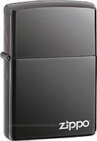 TV Shop  Зажигалка Zippo 150 ZL Black Ice с фирменым логотипом Zippo
