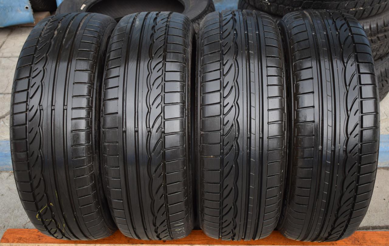 Шины б/у 185/60 R15 Dunlop SP Sport 01, ЛЕТО, 6-7 мм, комплект