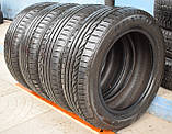 Шины б/у 185/60 R15 Dunlop SP Sport 01, ЛЕТО, 6-7 мм, комплект, фото 4