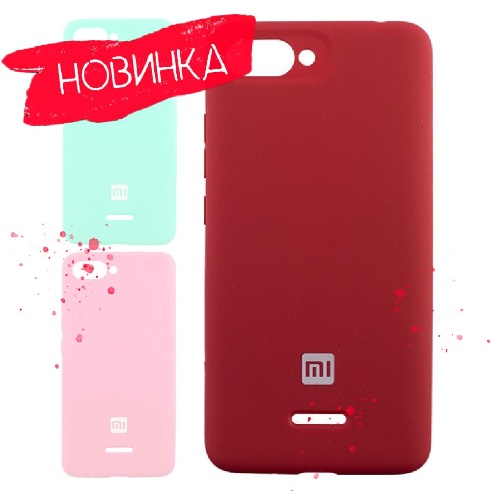 6 цветов Soft Touch чехол Silicone Cover Xiaomi Redmi 6/ Xiaomi Redmi 6A
