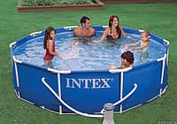 Семейный надувной бассейн  (366х76см )
