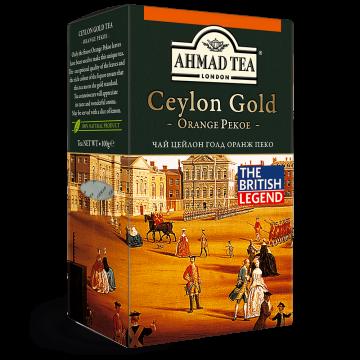Чай чорний Ahmad OP 200 g x 24 шт