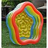 Практичный надувной бассейн для детей 185-180-53см