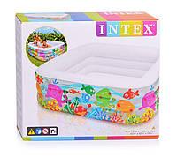 Детский надувной бассейн 159-159-50см, фото 1