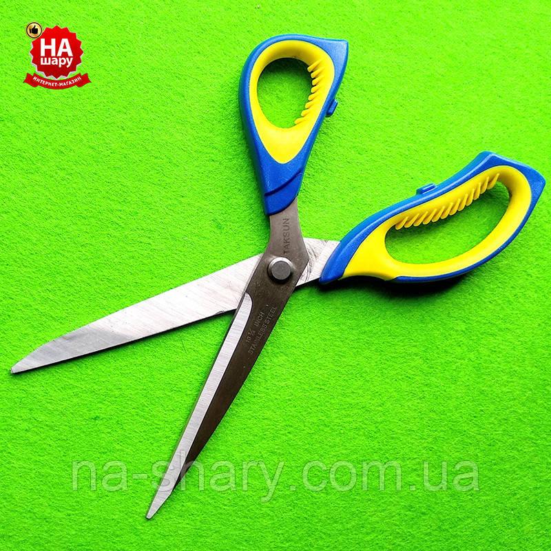 """Ножницы швейные 27.5см """"Taksun"""" (№10.5). Синий"""