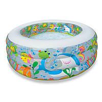 Надувной бассейн для дачи детский Intex  152х56см, фото 1