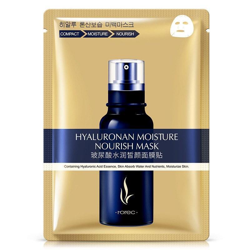 Маска для лица с гиалуроновой кислотой, увлажняющая и питающая. Hyaluronan moisture nourish mask 30 ml