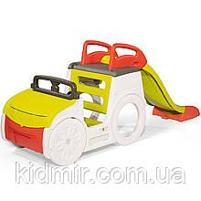 Игровой комплекс Машина приключений с горкой и багажником-песочницей (звук) Smoby 840205