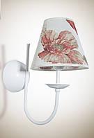 Бра, настенный светильник с абажуром