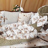 Кокон +плед+ бортики в кроватку, фото 1