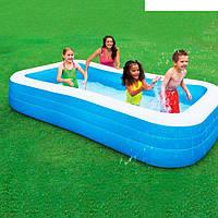 Семейный надувной бассейн Intex 305-183см, фото 1