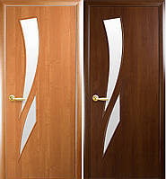 """Двери """"Камея"""" (полотно МДФ ламинированное со стеклом)"""