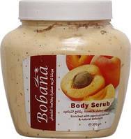Скраб для лица и тела абрикос BOBANA, 300 ml , Египет.