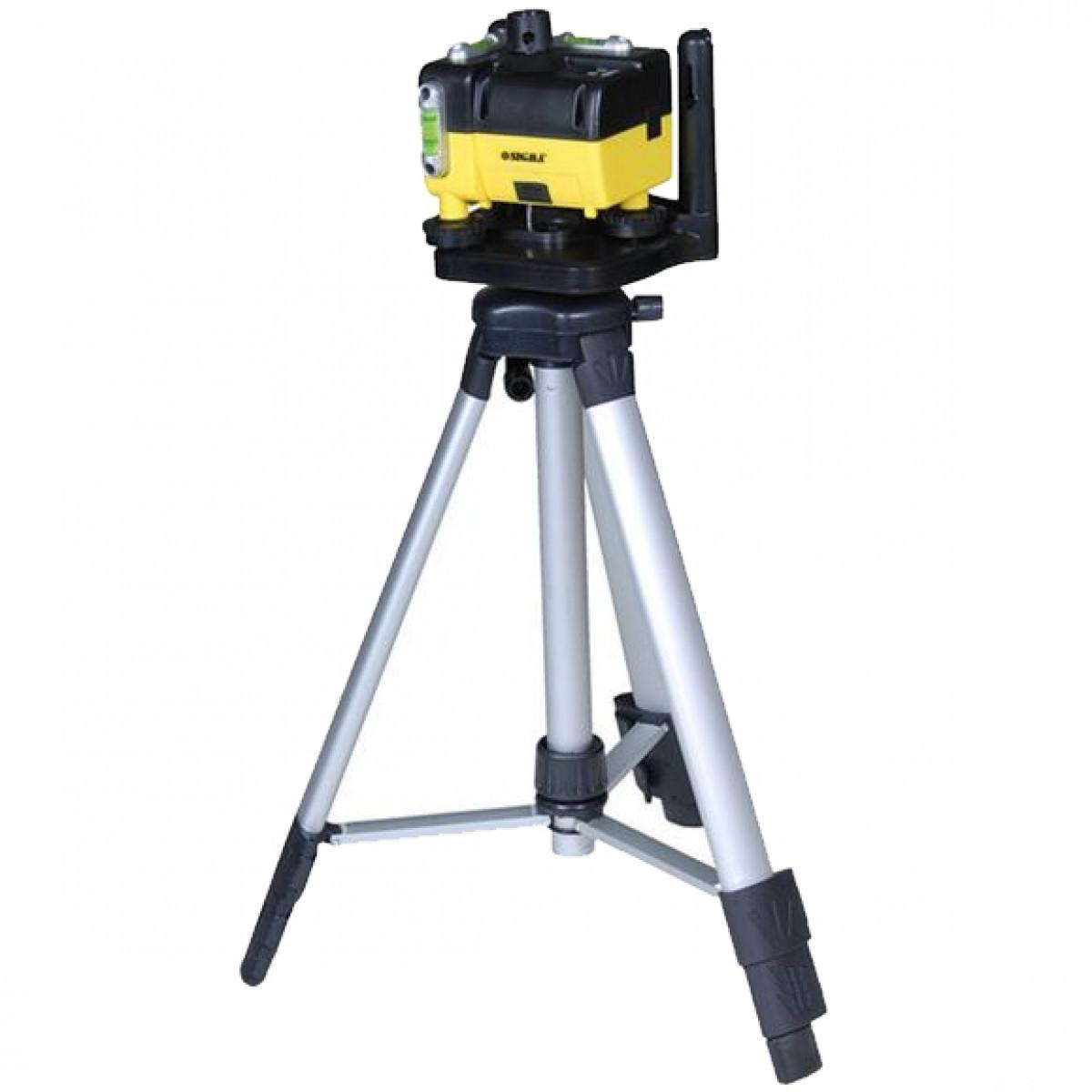 Нивелир лазерный оборотный 66см (кейс+тренога)